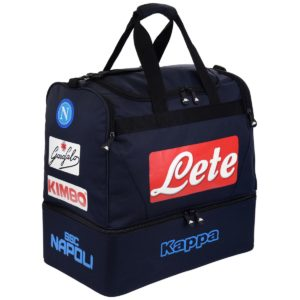Borsa-NAPOLI-SSC-Mod-ASPORT-2-Stagione-2018-19-Originale-Kappa-big-6520-053