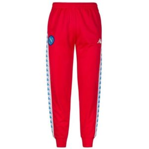pantalone banda sscnapoli rosso
