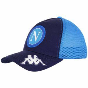 cappello visiera sscn azzurro