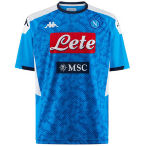 maglia replica sscn azzurra 2019/2020